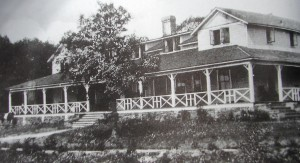 The original Switzerland Inn, built in 1910. (Photo from the North Carolina Collection, UNC-CH library.)