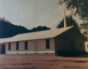 The Wesleyan Church as it looked in 1970, around the time that it received a most distinguished visitor