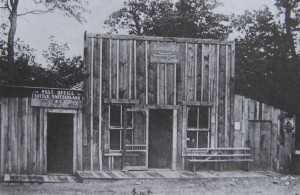 The first Little Switzerland store and post office
