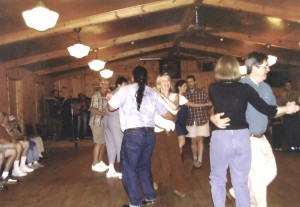 Square dances are held every Saturday night in July and August at Geneva Hall in Little Switzerland.