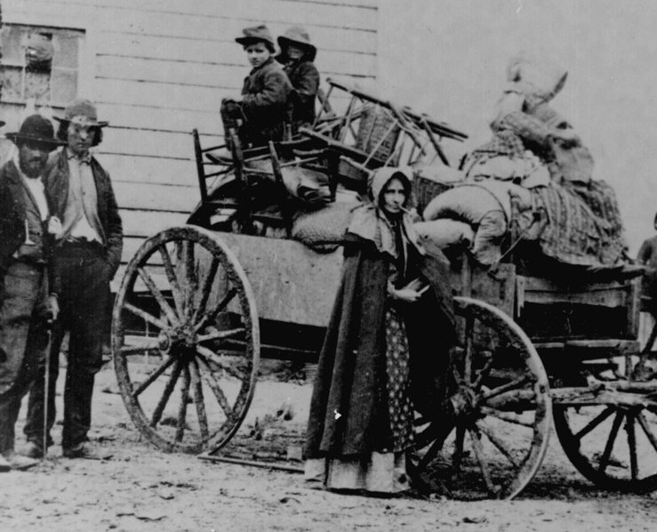 The Civil War: Hard Times on the Home Front » Leaving Home