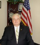 The Mayor in his office in 2009.